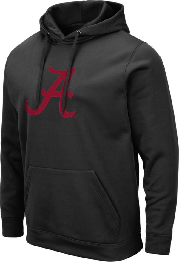 Colosseum Men's Alabama Crimson Tide Pullover Black Hoodie product image