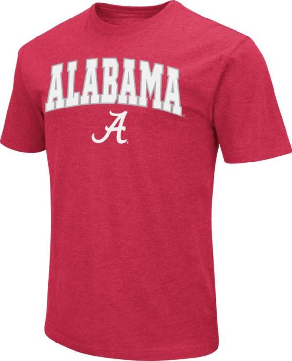 Colosseum Men's Alabama Crimson Tide Crimson Dual Blend T-Shirt product image