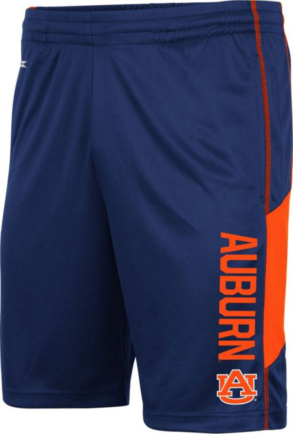 Colosseum Men's Auburn Tigers Blue Grizzly Shorts product image