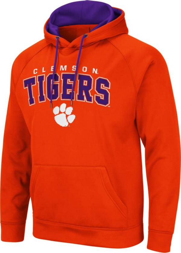 Colosseum Men's Clemson Tigers Orange Pullover Hoodie product image