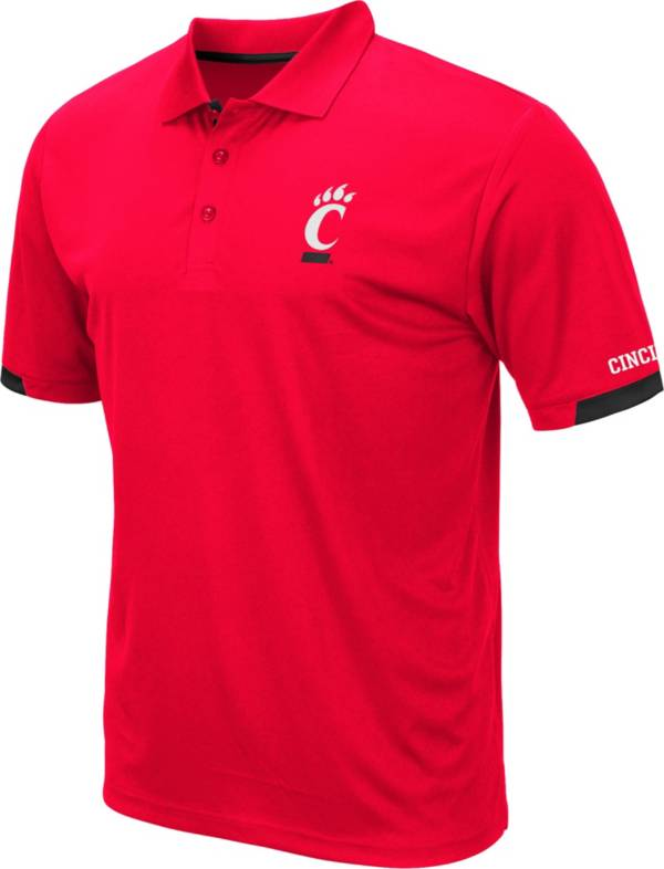 Colosseum Men's Cincinnati Bearcats Red Fairway Polo product image
