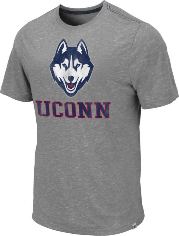 Colosseum Men's UConn Huskies Grey Campinas T-Shirt product image
