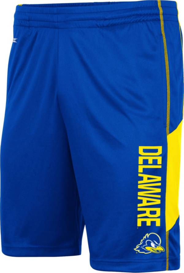 Colosseum Men's Delaware Fightin' Blue Hens Blue Grizzly Shorts product image