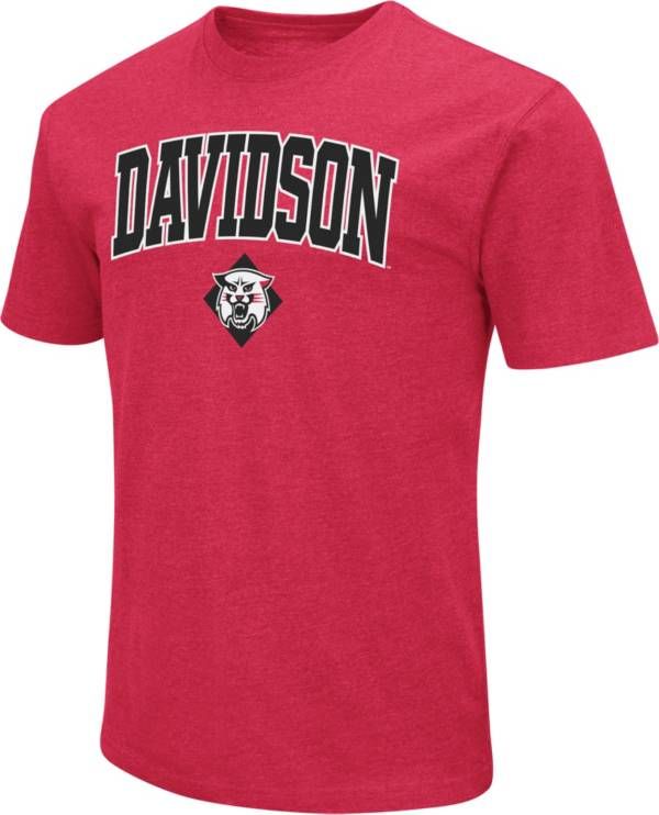 Colosseum Men's Davidson Wildcats Red Dual Blend T-Shirt product image