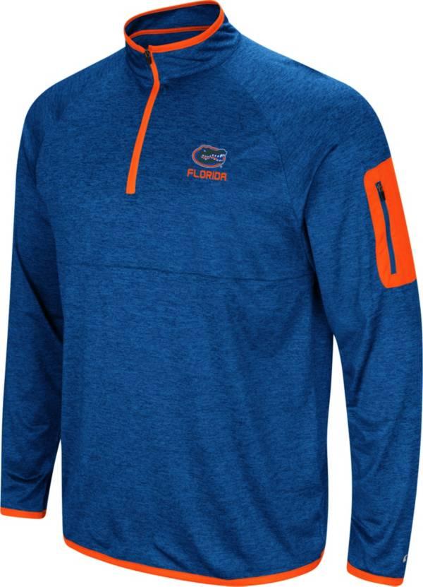 Colosseum Men's Florida Gators Blue Indus River Quarter-Zip Shirt product image