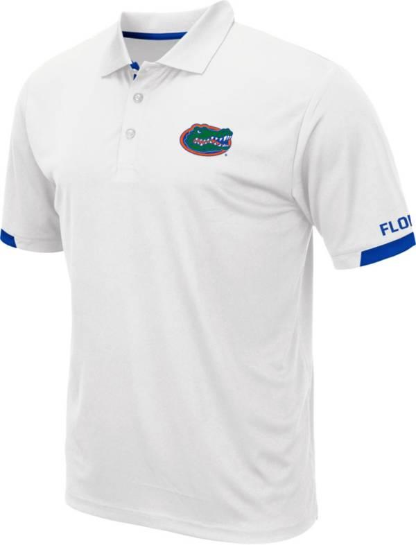 Colosseum Men's Florida Gators Fairway White Polo product image