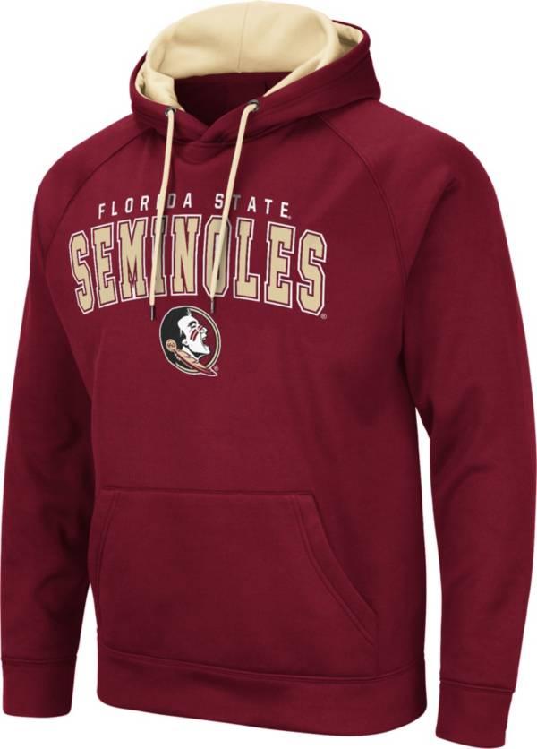 Colosseum Men's Florida State Seminoles Garnet Pullover Hoodie product image