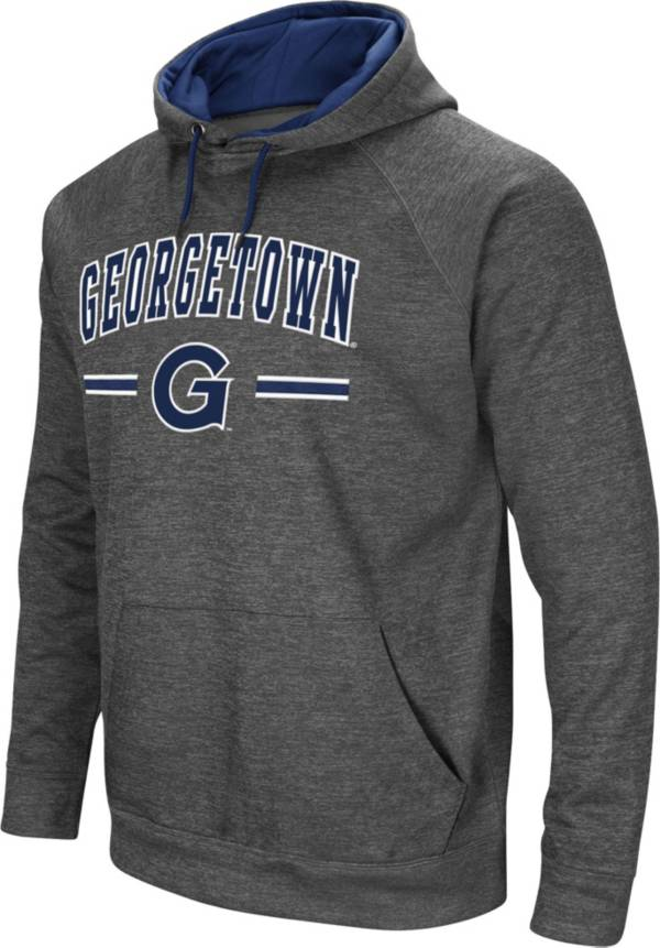 Colosseum Men's Georgetown Hoyas Grey Pullover Hoodie product image