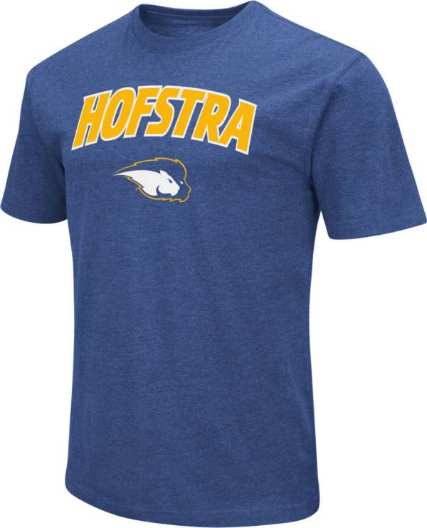 Colosseum Men's Hofstra Pride Royal Dual Blend T-Shirt product image