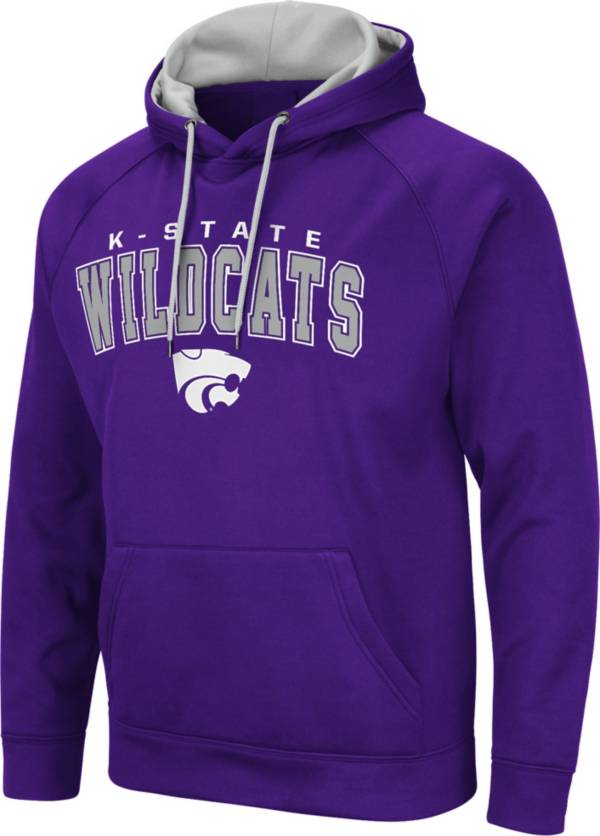 Colosseum Men's Kansas State Wildcats Purple Pullover Hoodie product image