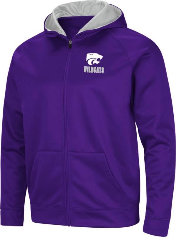 Colosseum Men's Kansas State Wildcats Purple Full-Zip Hoodie product image