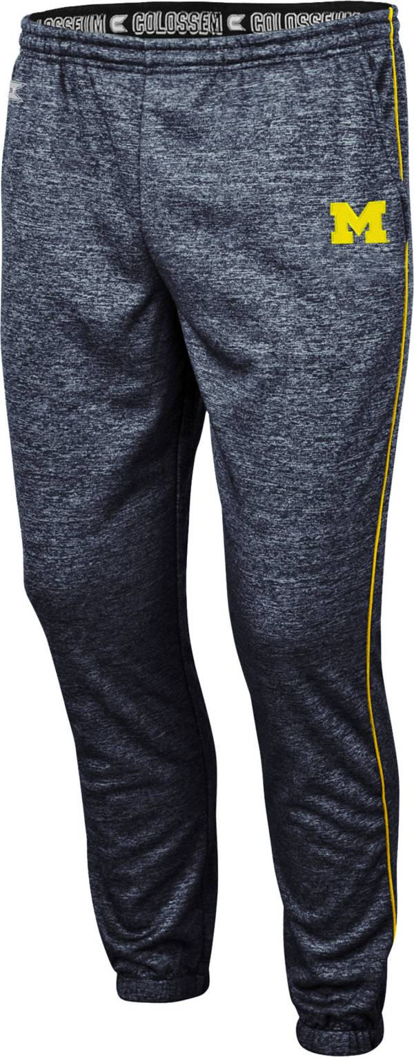 Colosseum Men's Michigan Wolverines Burns Blue Performance Pants product image