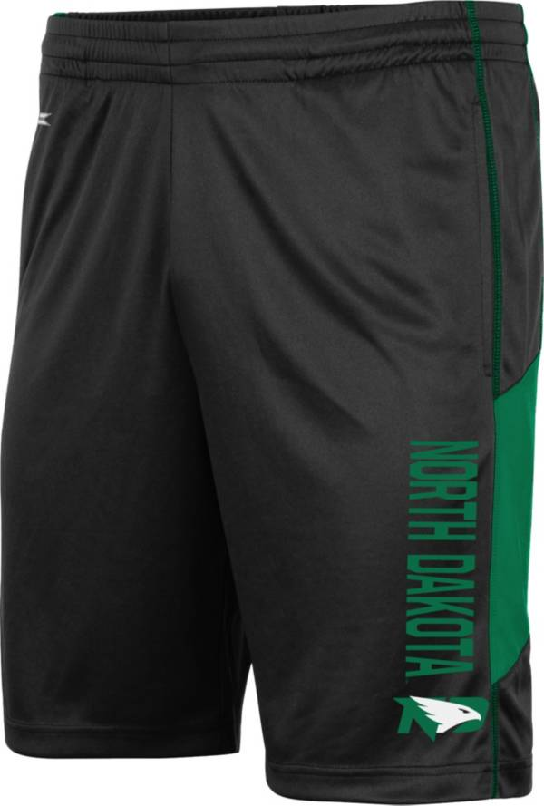 Colosseum Men's North Dakota Fighting Hawks Grizzly Black Shorts product image