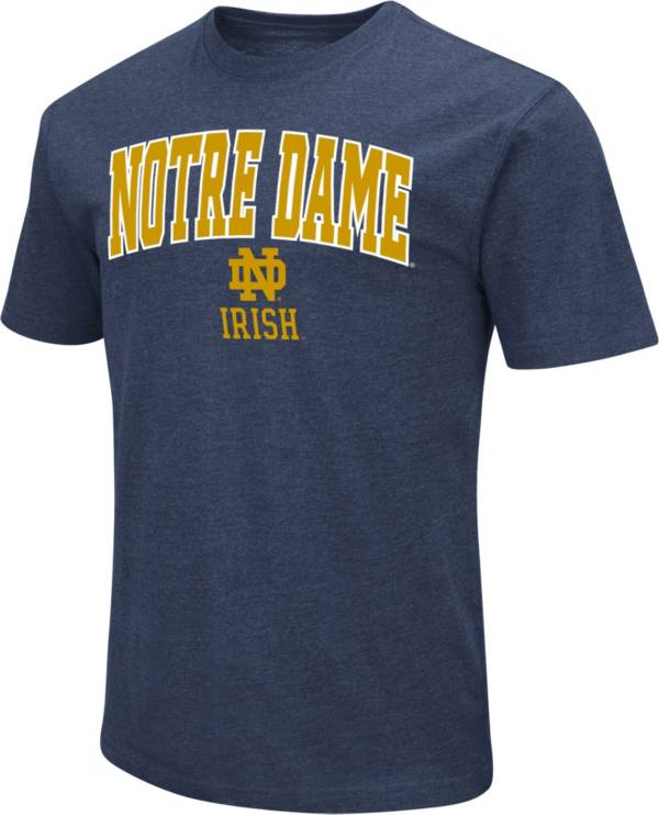 Colosseum Men's Notre Dame Fighting Irish Navy Dual Blend T-Shirt product image