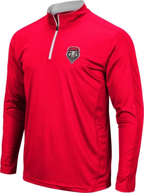 Colosseum Men's New Mexico Lobos Cherry Loggerhead Quarter-Zip Shirt product image