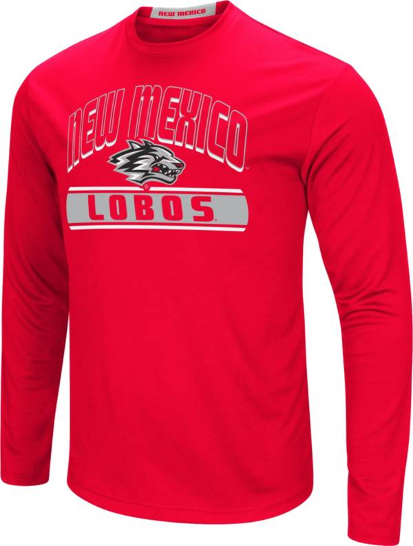 Colosseum Men's New Mexico Lobos Cherry Ganges Long Sleeve T-Shirt product image