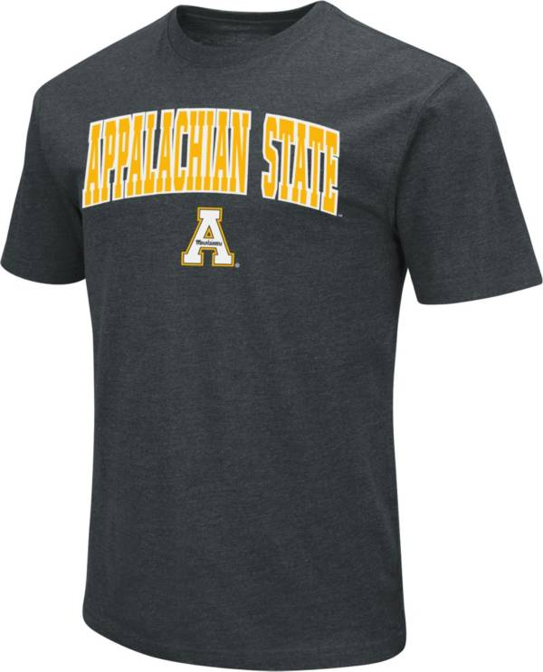 Colosseum Men's Appalachian State Mountaineers Dual Blend Black T-Shirt product image