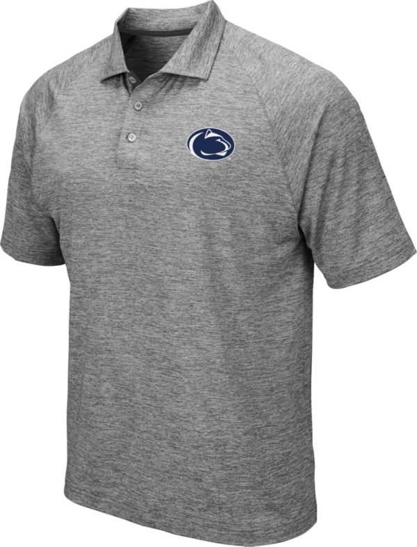 Colosseum Men's Penn State Nittany Lions Grey Chip Shot Polo product image