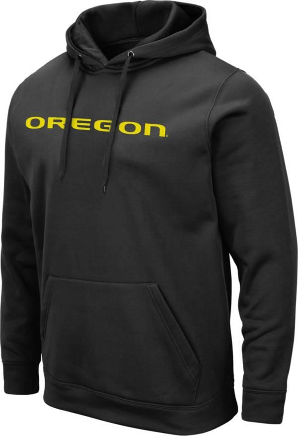 Colosseum Men's Oregon Ducks Pullover Black Hoodie product image