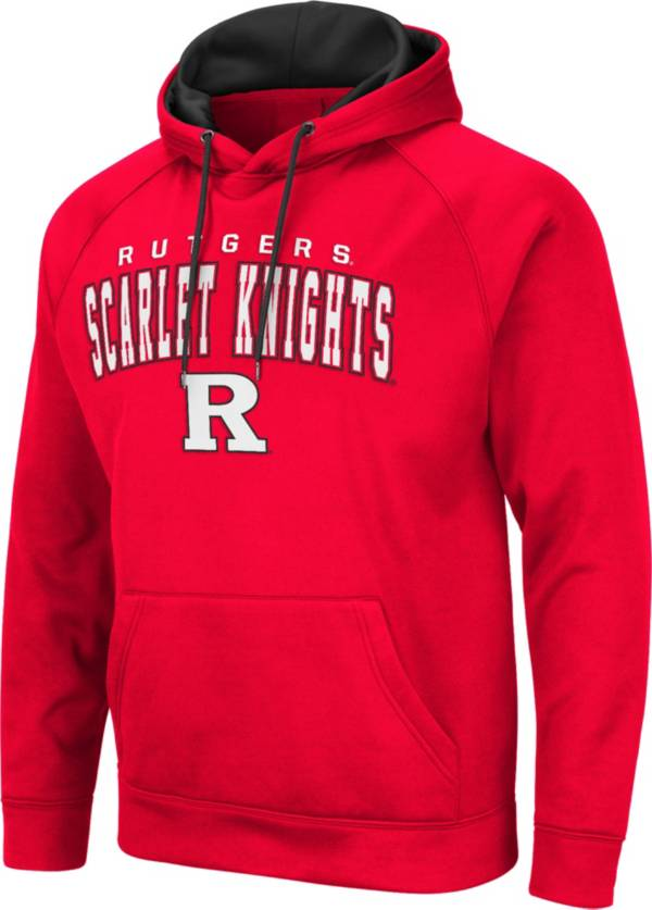 Colosseum Men's Rutgers Scarlet Knights Scarlet Pullover Hoodie product image