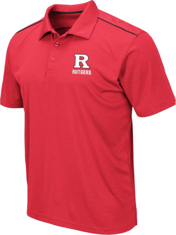 Colosseum Men's Rutgers Scarlet Knights Scarlet Eagle Polo product image