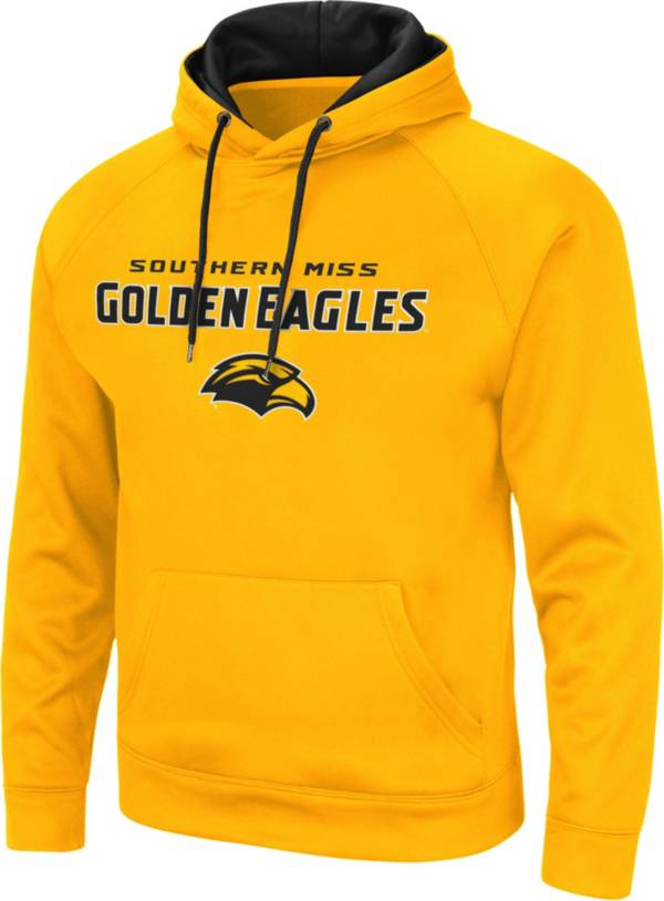 Colosseum Men's Southern Miss Golden Eagles Gold Pullover Hoodie product image
