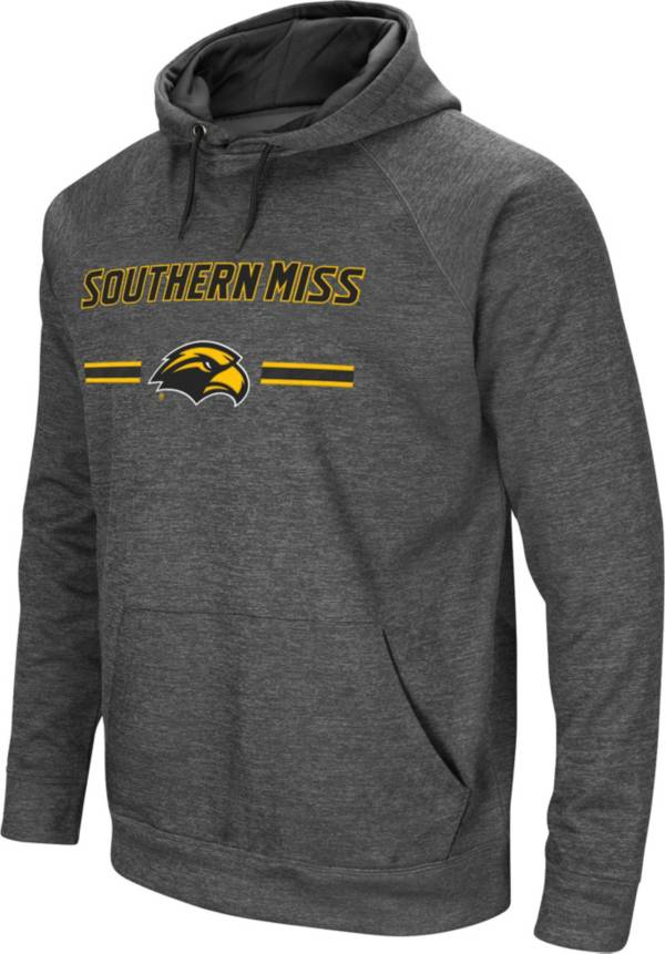 Colosseum Men's Southern Miss Golden Eagles Grey Pullover Hoodie product image