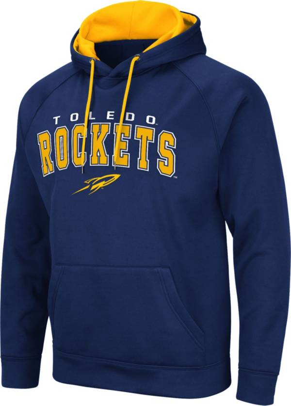 Colosseum Men's Toledo Rockets Midnight Blue Pullover Hoodie product image