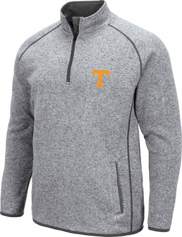 Colosseum Men's Tennessee Volunteers Grey Amur Quarter-Zip Pullover Shirt product image