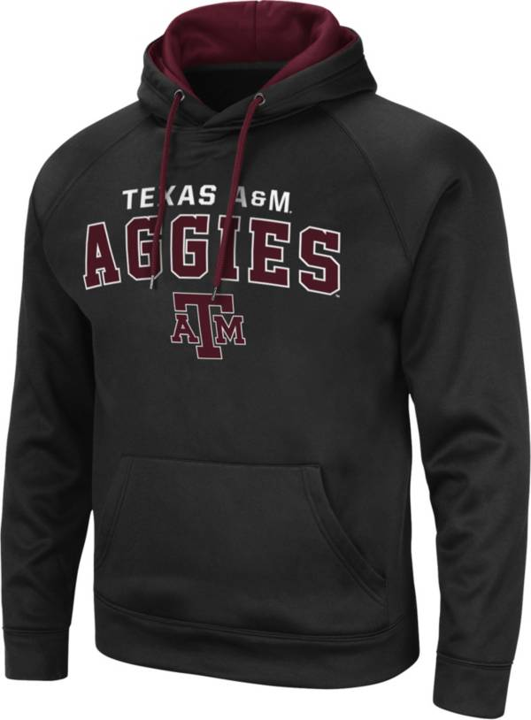 Colosseum Men's Texas A&M Aggies Pullover Black Hoodie product image