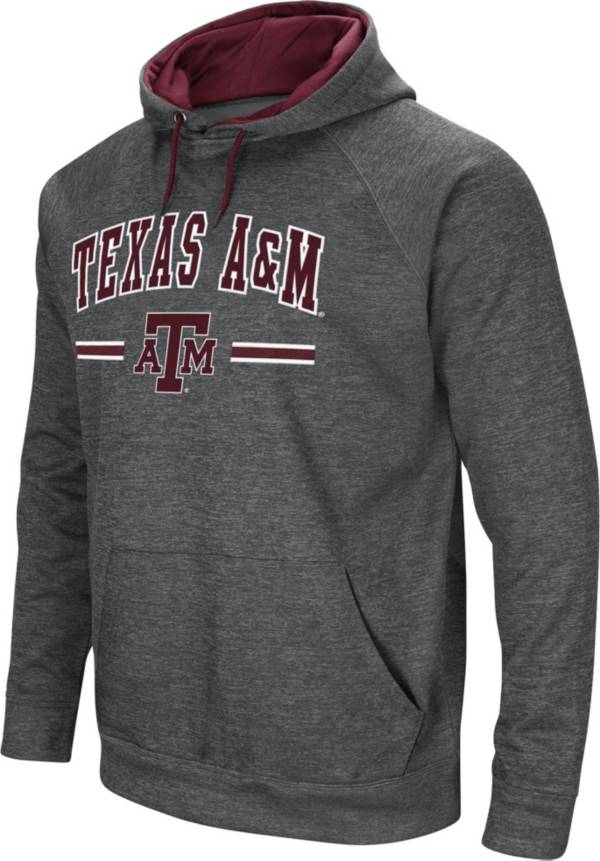 Colosseum Men's Texas A&M Aggies Grey Pullover Hoodie product image