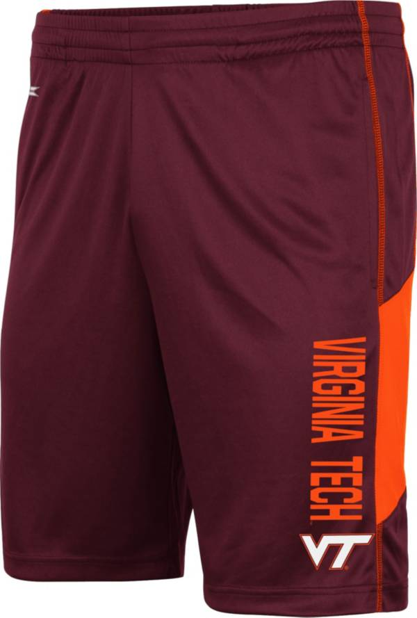 Colosseum Men's Virginia Tech Hokies Maroon Grizzly Shorts product image