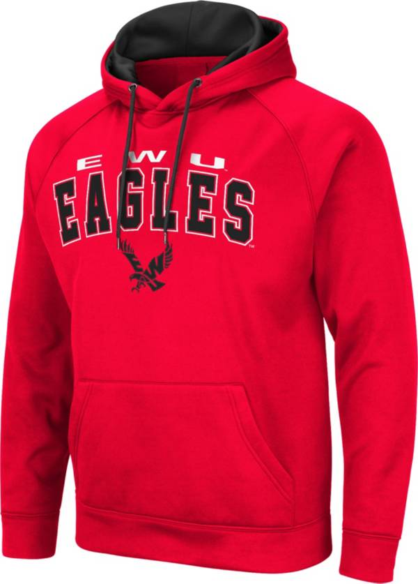 Colosseum Men's Eastern Washington Eagles Red Pullover Hoodie product image