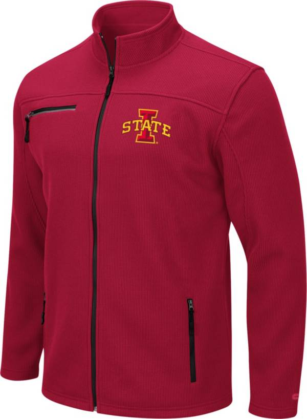 Colosseum Men's Iowa State Cyclones Cardinal Willie Full-Zip Jacket product image