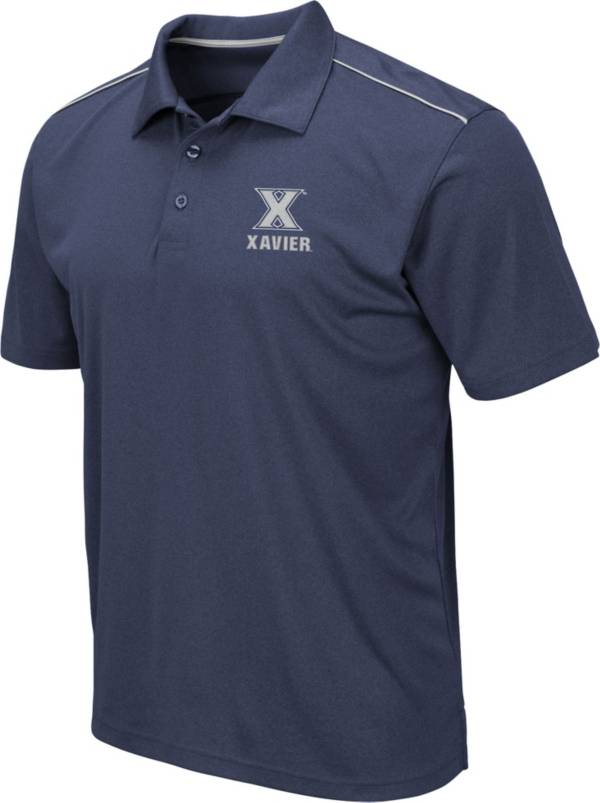 Colosseum Men's Xavier Musketeers Blue Eagle Polo product image
