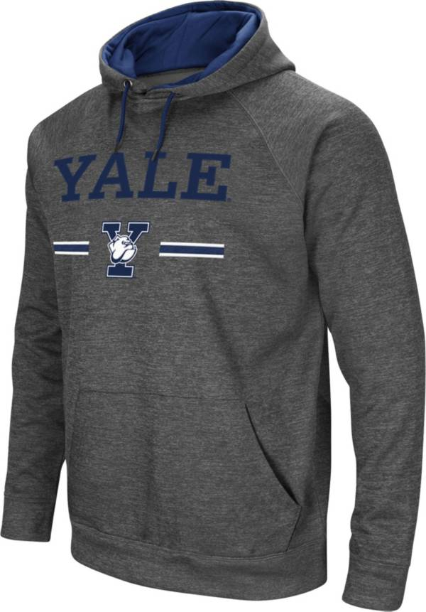 Colosseum Men's Yale Bulldogs Grey Pullover Hoodie product image