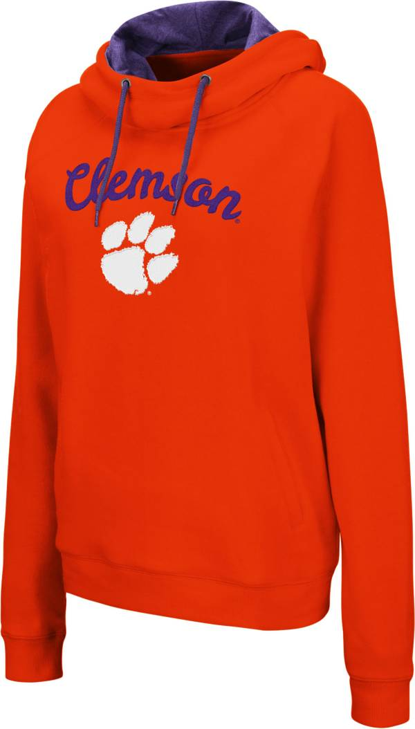 Colosseum Women's Clemson Tigers Orange Louise Pullover Sweatshirt product image