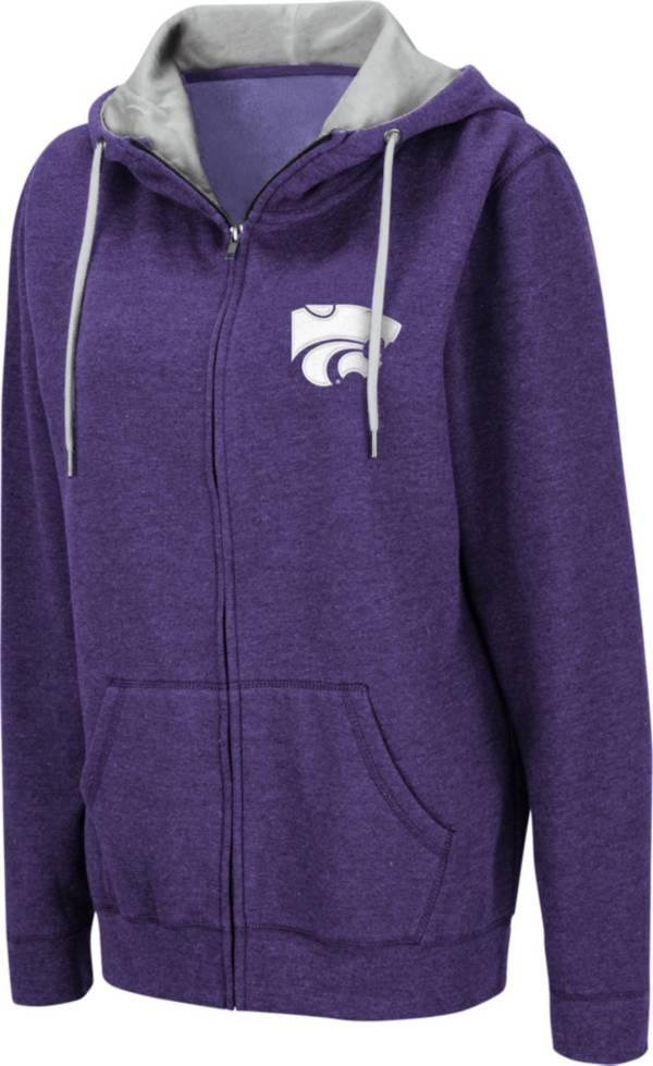 Colosseum Women's Kansas State Wildcats Purple Full-Zip Hoodie product image
