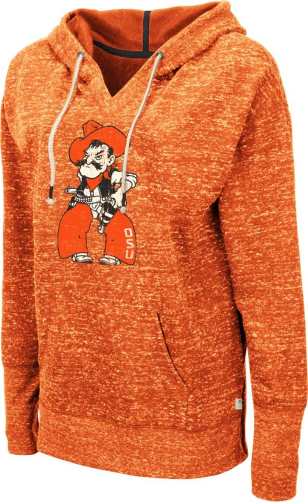 Colosseum Women's Oklahoma State Cowboys Orange Bradshaw Pullover Hoodie product image