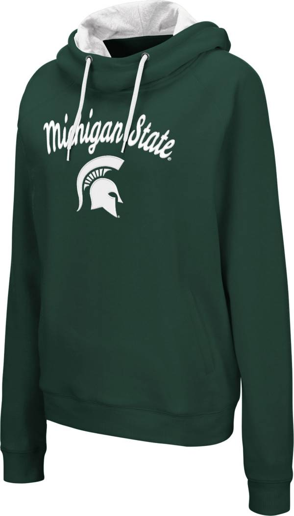 Colosseum Women's Michigan State Spartans Green Louise Pullover Sweatshirt product image