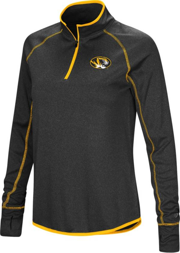 Colosseum Womens Missouri Tigers Funnel Neck Pull-Over Sweater