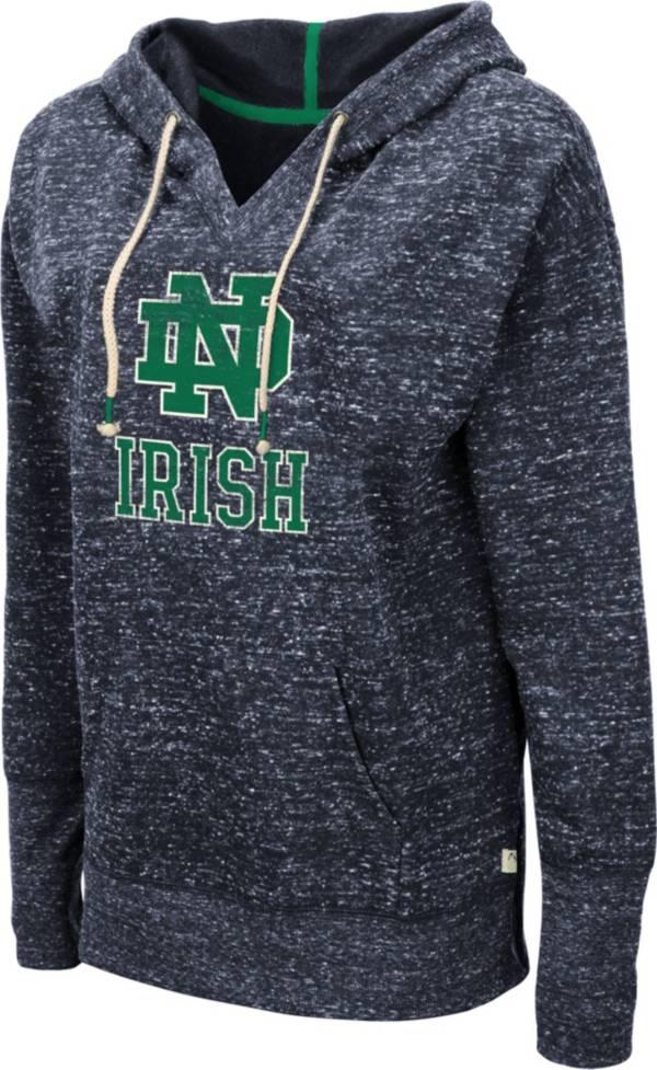 Colosseum Women's Notre Dame Fighting Irish Navy Bradshaw Pullover Hoodie product image