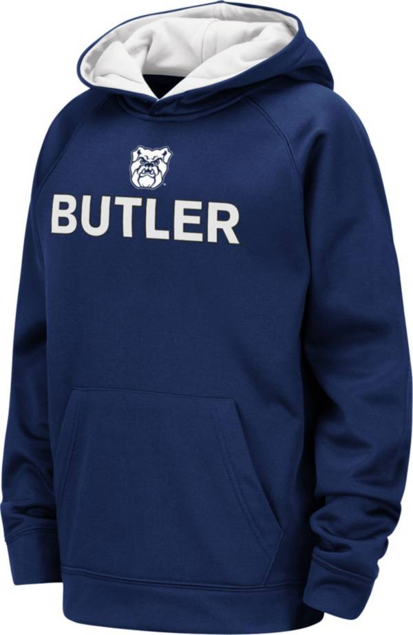 Colosseum Youth Butler Bulldogs Blue Pullover Hoodie product image