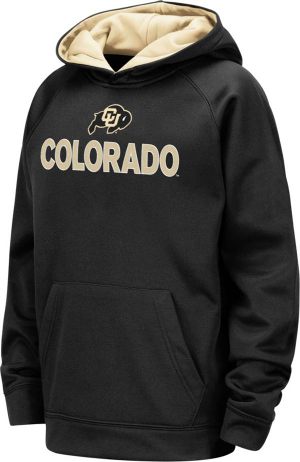 Colosseum Youth Colorado Buffaloes Pullover Black Hoodie product image