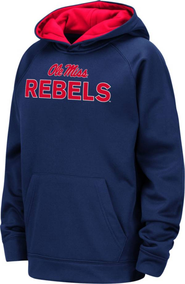 Colosseum Youth Ole Miss Rebels Blue Pullover Hoodie product image