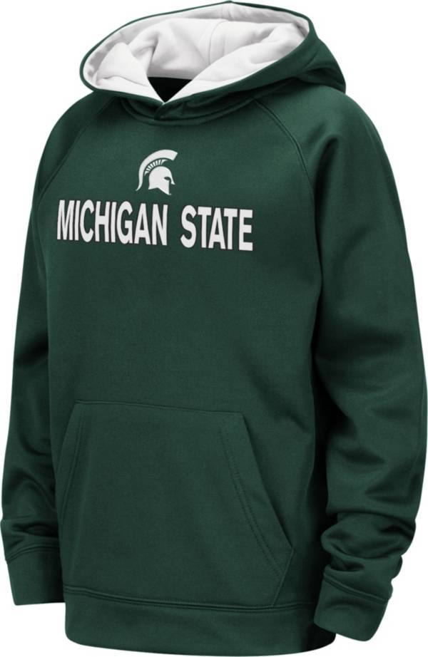Colosseum Youth Michigan State Spartans Green Pullover Hoodie product image