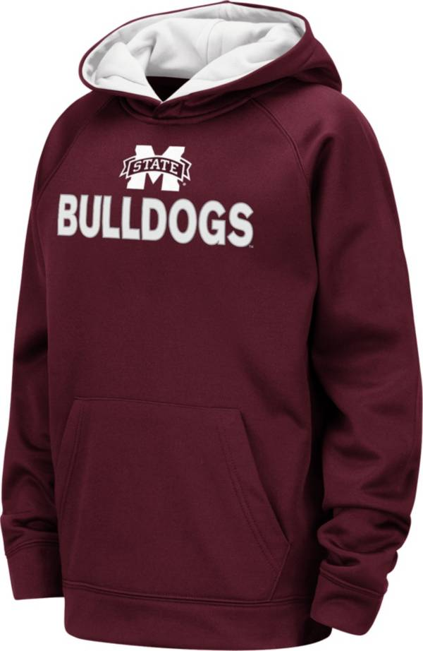 Colosseum Youth Mississippi State Bulldogs Maroon Pullover Hoodie product image