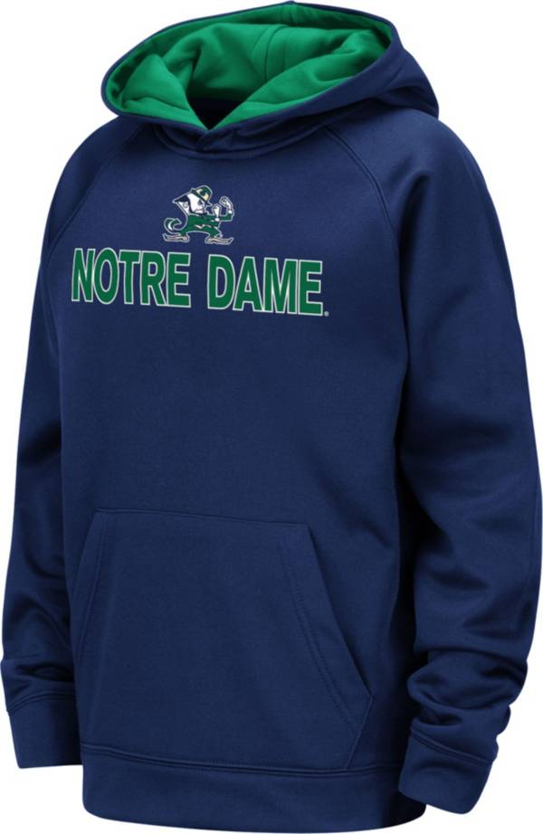 Colosseum Youth Notre Dame Fighting Irish Navy Pullover Hoodie product image