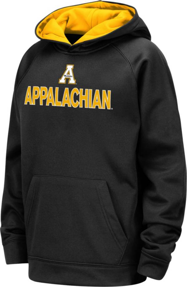 Colosseum Youth Appalachian State Mountaineers Pullover Black Hoodie product image