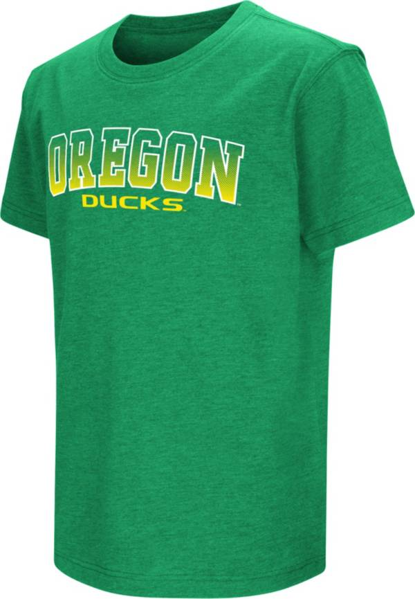 Colosseum Youth Oregon Ducks Green Dual Blend T-Shirt product image